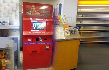 Money Transfer Kiosk