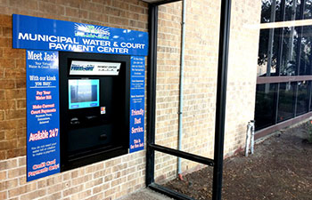 Outdoor Bill Payment Kiosk - Freeport, Texas